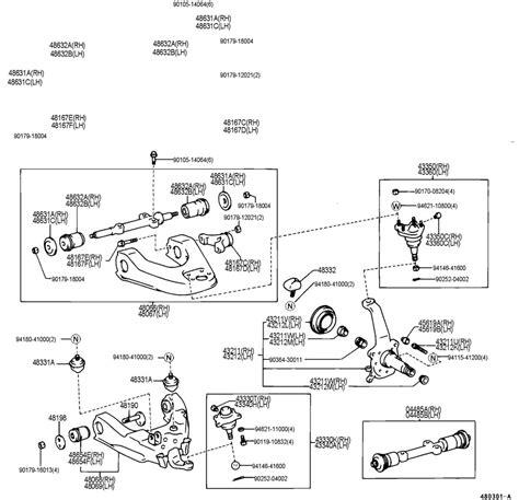 toyota t100 parts diagram 1996 toyota t100 fuse box diagram 2003 toyota sequoia fuse