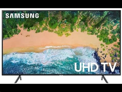 newest samsung nu   uhd flat smart led tv  overview youtube