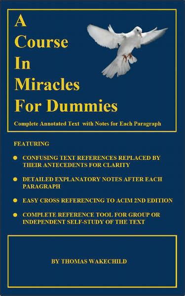 libro a course in miracles a course in miracles for dummies by thomas wakechild nook book ebook barnes noble 174