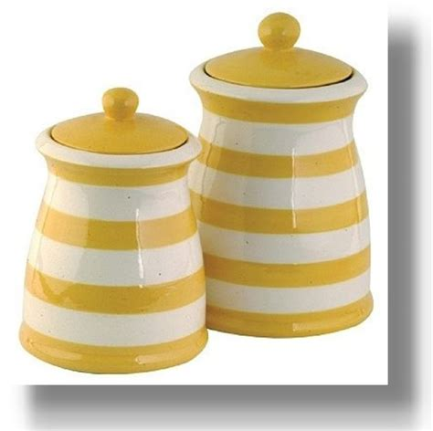 yellow kitchen canister set 123 best ceramic canister sets images on pinterest
