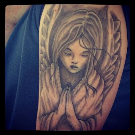 angel praying tattoo designs praying tattoos pictures