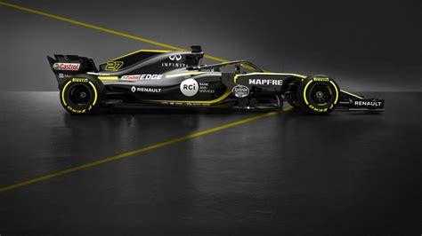 Kaos F1 Racing 7 Oceanseven f 243 rmula 1 as 237 es el renault rs18 de carlos sainz marca