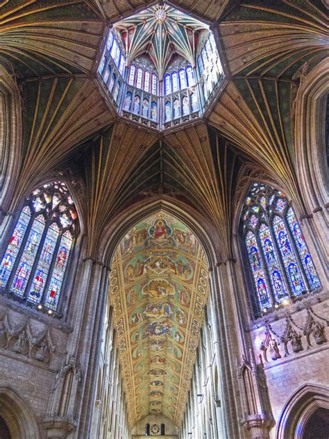 octagon  nave ely cathedral  william starkey cc  sa