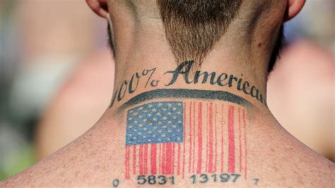 barcode tattoo genre america s love affair with nationalism npr