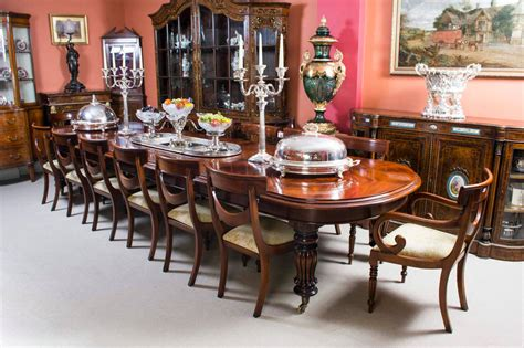 vintage victorian mahogany dining table   chairs