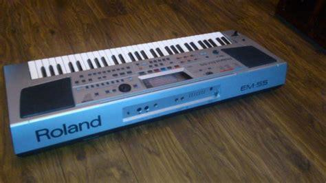 Keyboard Roland Em55 roland em55 for sale for sale in finglas dublin from kasko