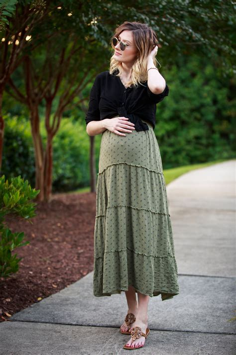 high waisted maternity style styling a non maternity