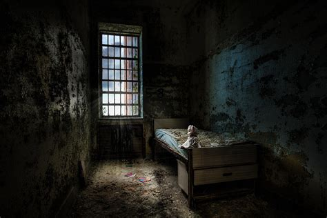 haunted doll escape room room abandoned places room with a bed photograph