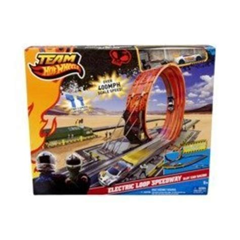 Amazon.com: Team Hot Wheels Electric Loop Speedway Slot