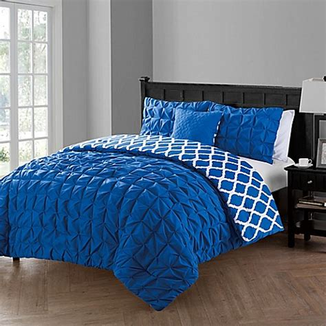 bed bath and beyond scottsdale vcny home scottsdale reversible comforter set bed bath