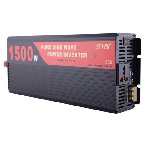 New Arrival Power Inverter 1500 W Dc 12v Ke Ac 220v Merk Sumura Lp suvpr dy lg1500s 1500w dc 12v to ac 220v sine wave car power inverter with universal power