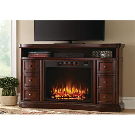 electric fireplace tv stand home depot home decorators collection charleston 60 inch tv stand