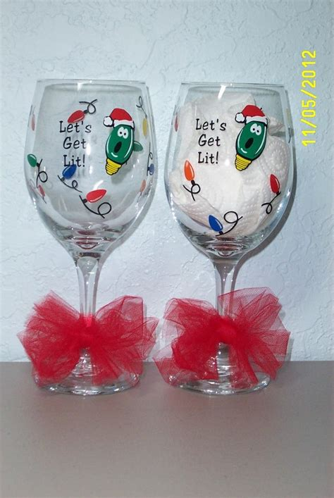 Vinyl Wine Glass Ideas Cricut
