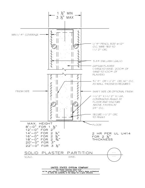 Interior Partition Types by Interior Partition Wall Details Type Rbservis