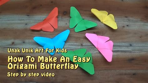 Origami Butterfly Step By Step - how to make origami butterfly for step by step