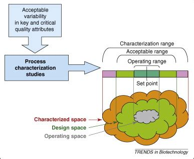 design space definition in qbd roadmap for implementation of quality by design qbd for