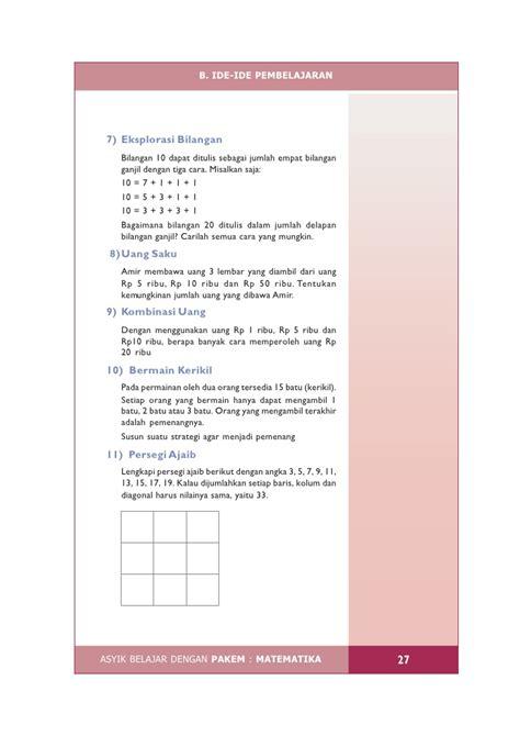 Asyik Belajar Matematika 125 Matematika