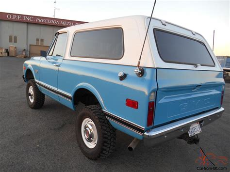 1972 gmc jimmy 1972 gmc jimmy 4wd full convertible 4x4 new engine