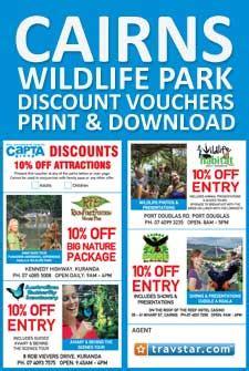 discount vouchers doncaster wildlife park information about cairnsinfo com cairns info com cairns
