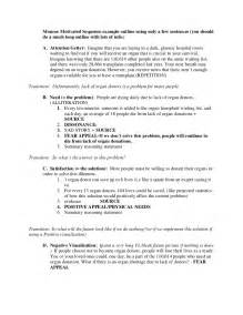 Outline For Informative Speech Template by New Persuasive Speech Outline