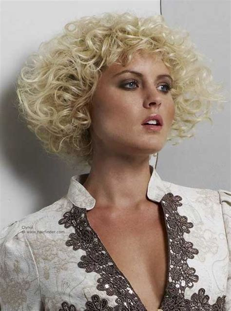 curly chin length cut short curly hairstyles for thin hair short hairstyles