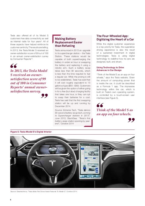 Tesla Customer Experience Tesla Motors A Silicon Valley Version Of The Automotive