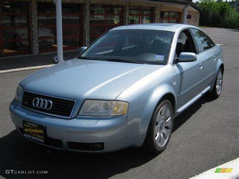 Audi A6 2002 by 2002 Blue Metallic Audi A6 4 2 Quattro Sedan