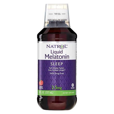 Promo Now Melatonin Liquid Cair On Optimum Nutrition Melatonin natrol melatonin liquid 2 5 mg 8 fl oz evitamins