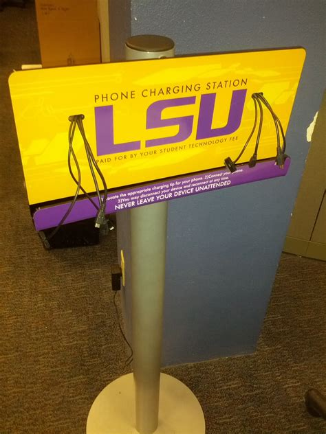 lsu it help desk charging stations for mobile devices lsu overview grok