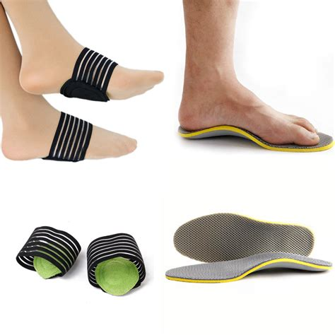 walking sandals high arch support foot heel relief plantar fasciitis insole pads arch