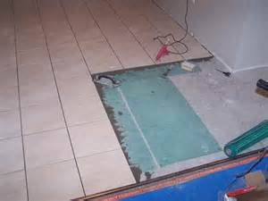 how to replace floor tile