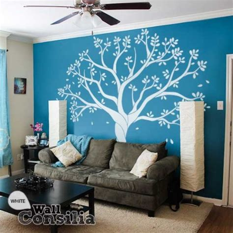 white tree decal for nursery wall white tree wall decal for family room or nursery