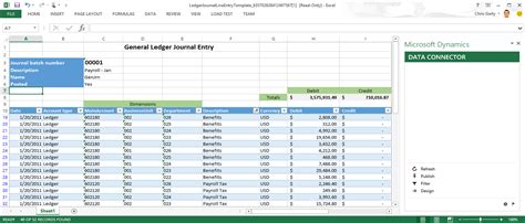create open in excel experiences finance operations