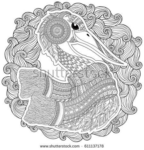 balance anti stress coloring zentangle balance and stress relief coloring book for adults zentangle stylized mustang isolated stock