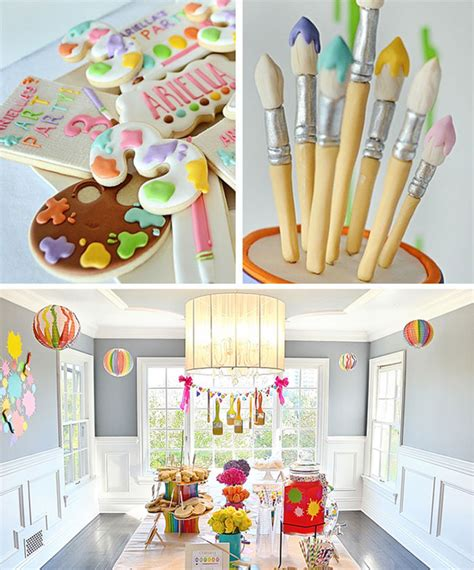 art themed events art themed 3rd birthday party