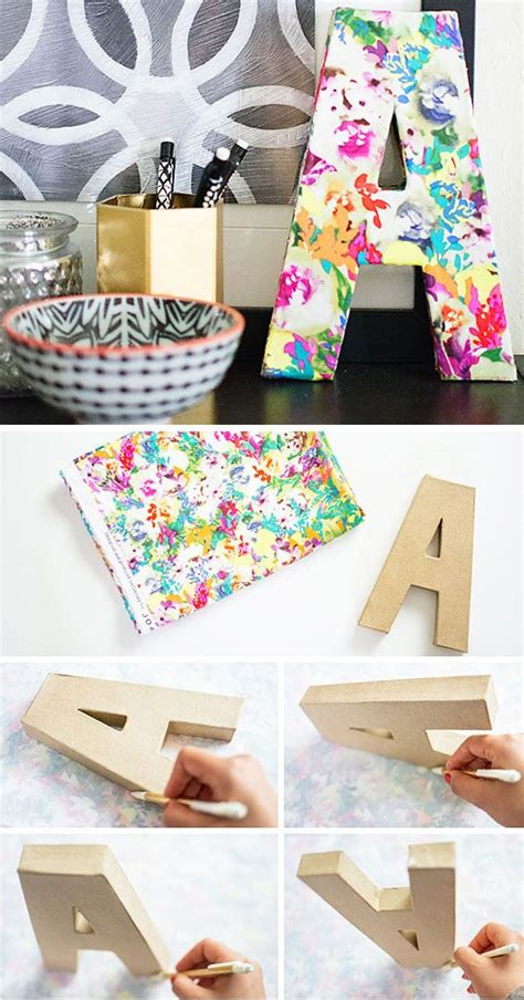 diy floral monogram diy home decor ideas on a budget