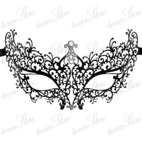 template venetian mask masquerade mask classic black handcrafted masquerade