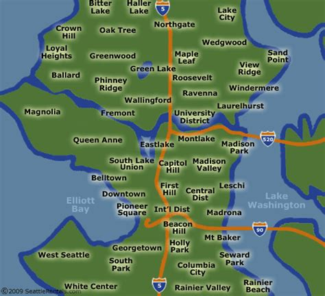 seattle map by neighborhood seattle apartments at seattle rentals condos