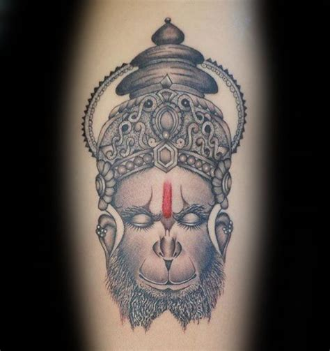 hanuman tattoo 60 hanuman designs for hinduism ink ideas