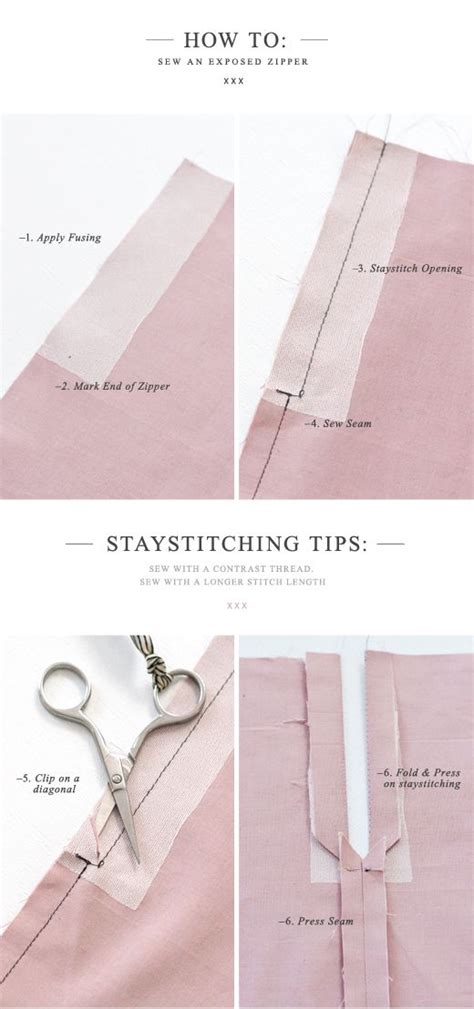 sewing pattern hacks pattern runway how to sew an exposed zipper with a