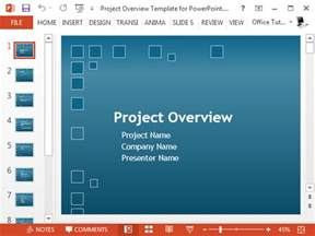 Powerpoint Project Template by Free Project Plan Powerpoint Template