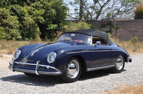 porsche speedster blue 1958 porsche speedster blue excellent condition