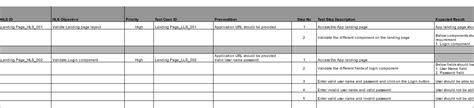 Jira Bug Tracking Tool Knowledge Test Scenario Template