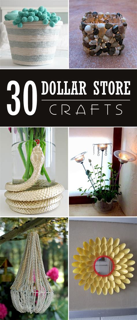 dollar store craft projects 30 easy stunning dollar store crafts