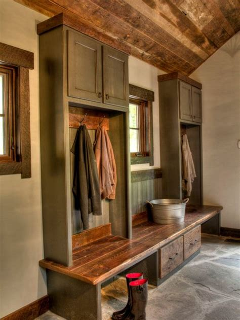 rustic mudroom save email