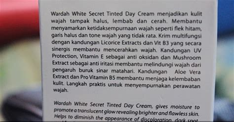 Harga Rangkaian Produk Wardah White Secret the published drafts of a procrastinator review wardah
