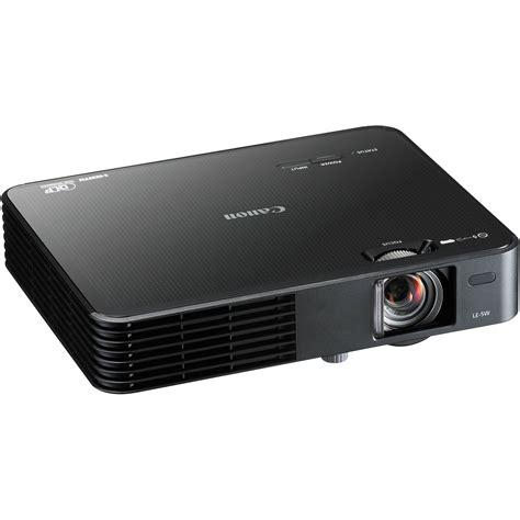 canon le 5w multimedia projector black 8483b002 b h photo