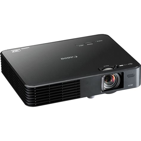 Proyektor Canon Le 5w Canon Le 5w Multimedia Projector Black 8483b002 B H Photo