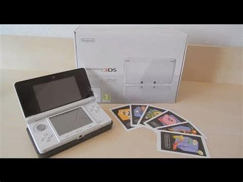 Kaset Nintendo 3ds White nintendo 3ds white european unboxing