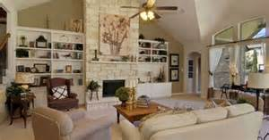 Family Room Bookshelves - built ins beside fireplace amp vaulted ceiling built ins amp bookcases pinterest ceiling